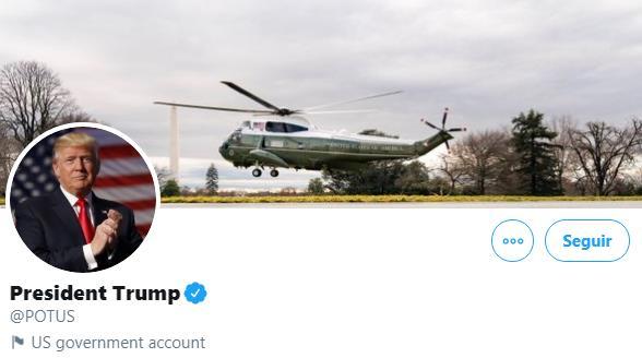 La Casa Blanca y la cuenta de Twitter @Potus cambian de inquilino